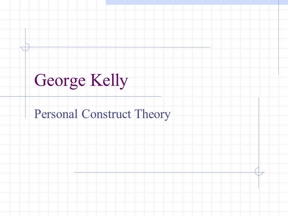 I.Biography: 1905-1967 George Kelly was born in a farming community near Wichita, Kansas.