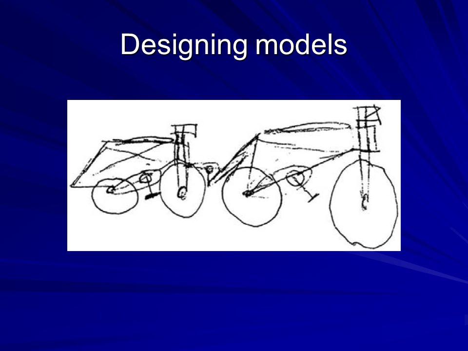Designing models