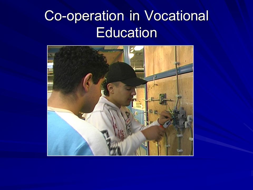 Co-operation in Vocational Education