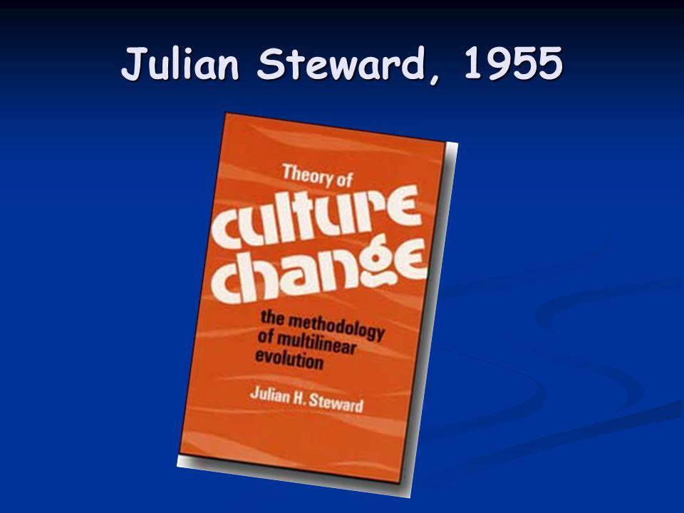 Julian Steward, 1955