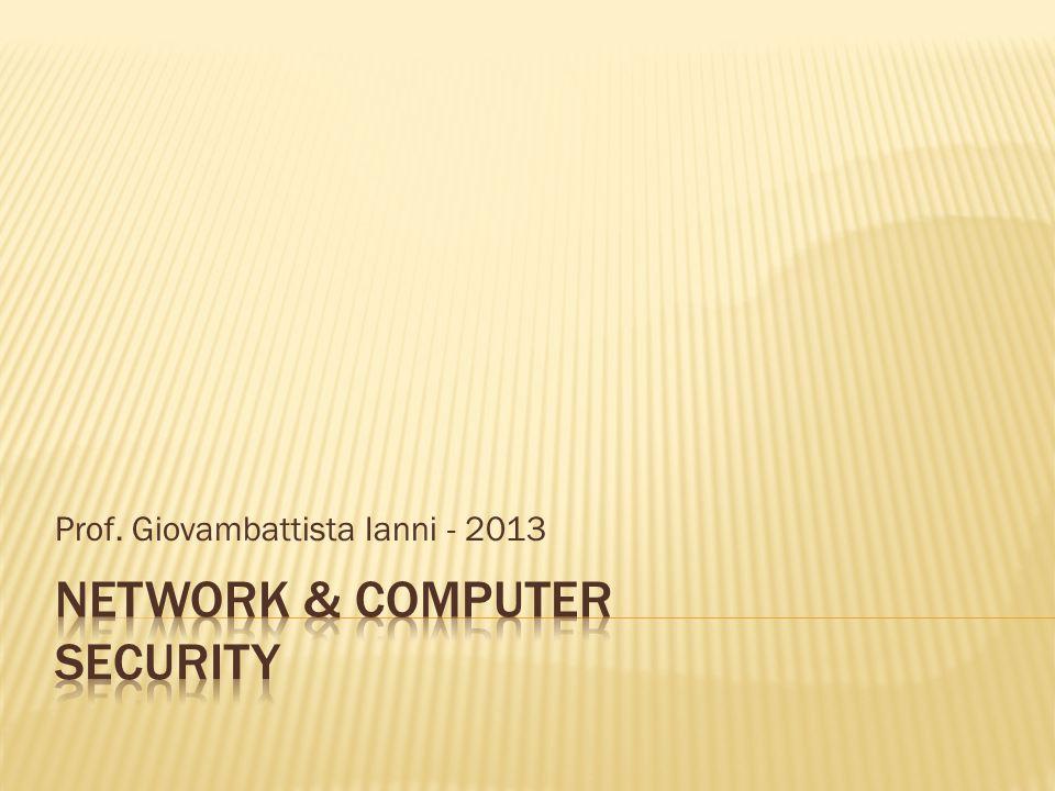 Prof. Giovambattista Ianni - 2013