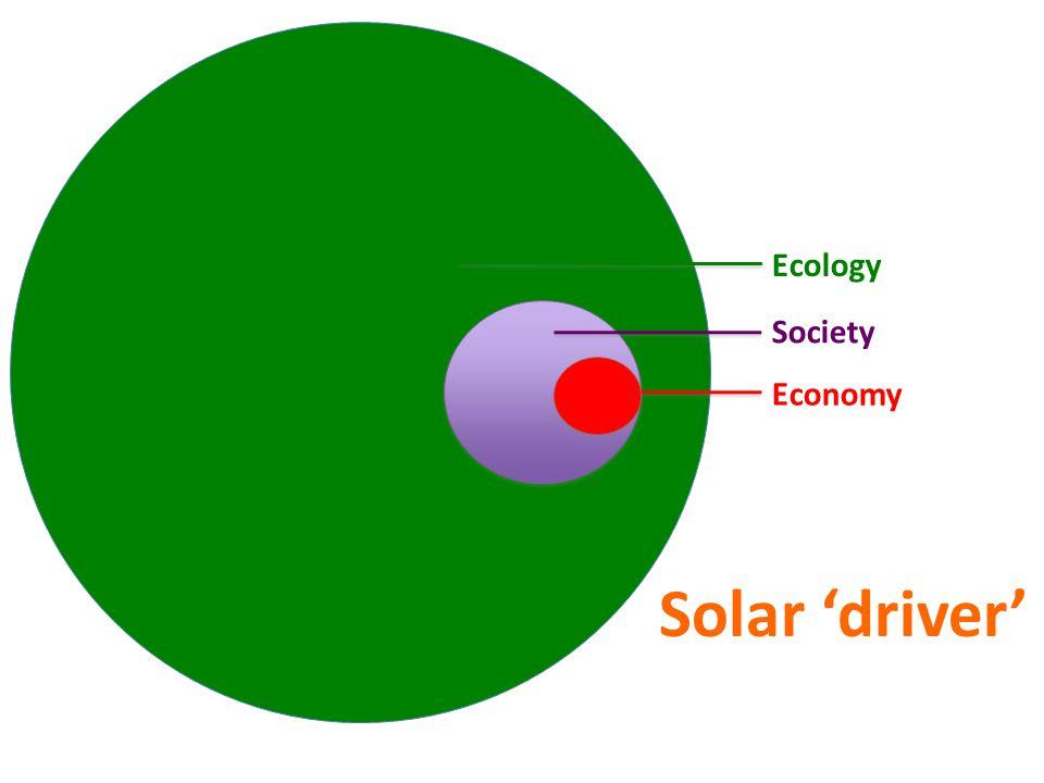 Ecology Society Economy Solar 'driver'