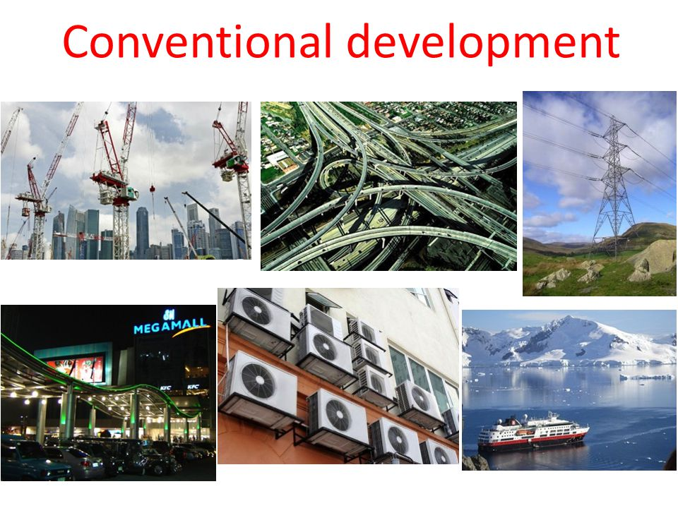 Conventional development