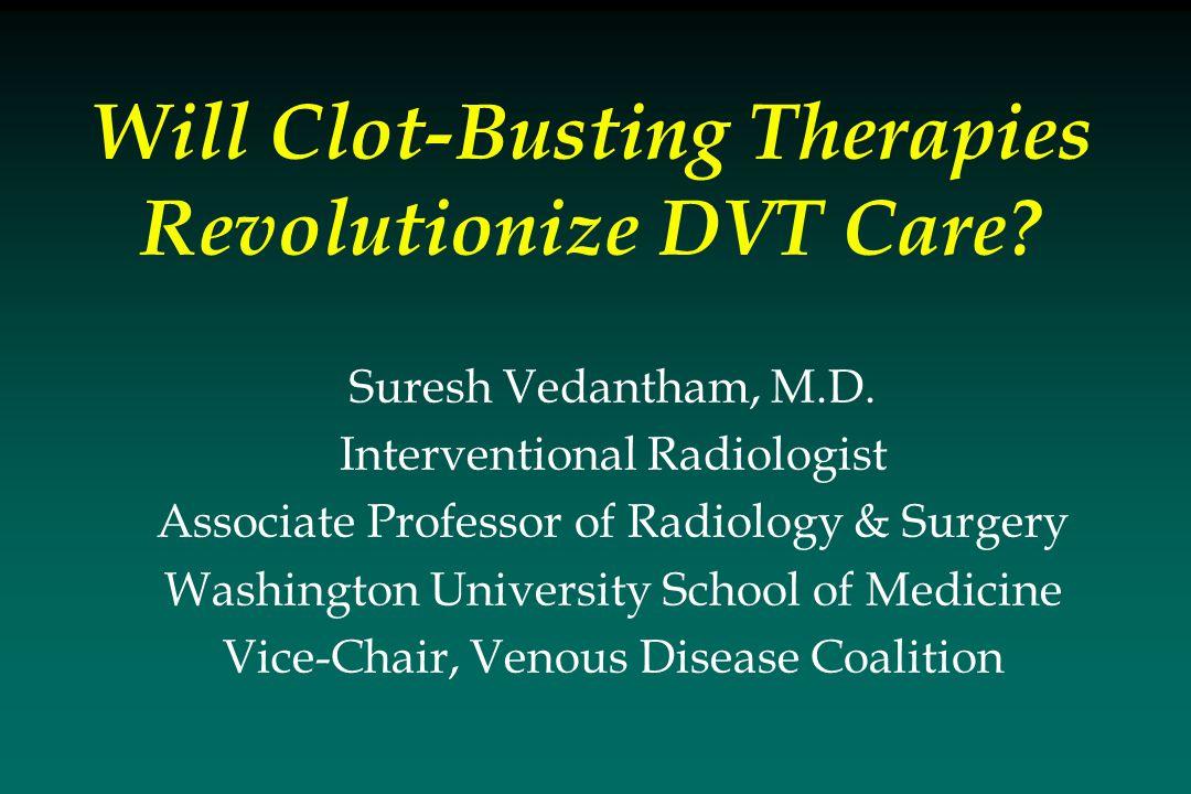 Suresh Vedantham, M.D.