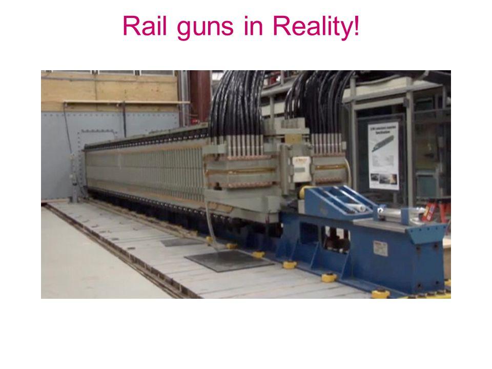 Rail guns in Reality!