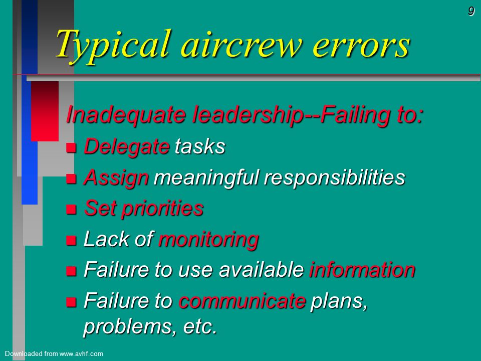 30 Downloaded from www.avhf.com Responsibility.