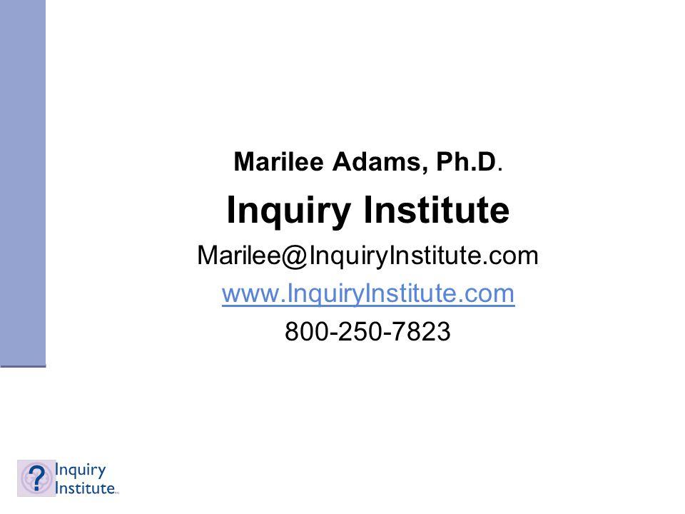 Marilee Adams, Ph.D.