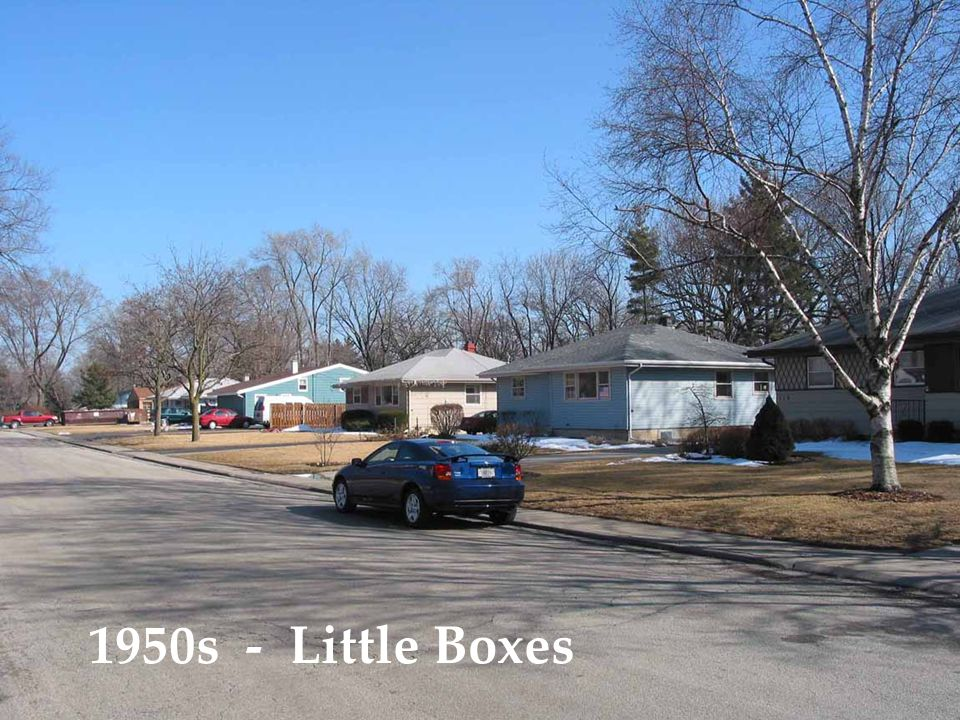 1950s - Little Boxes
