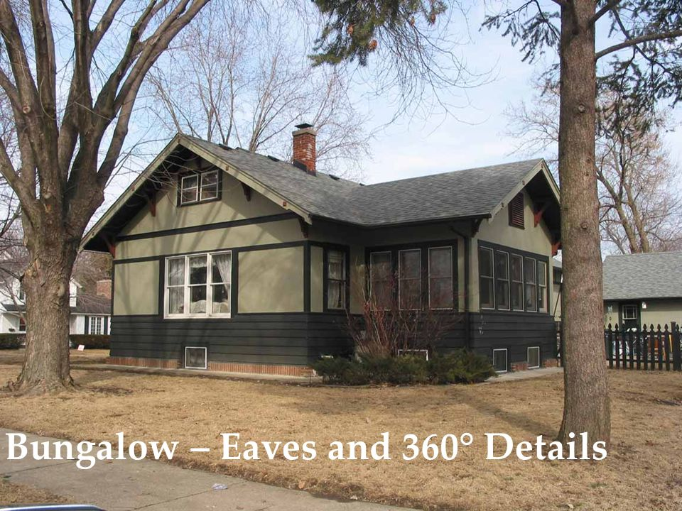 Bungalow – Eaves and 360° Details