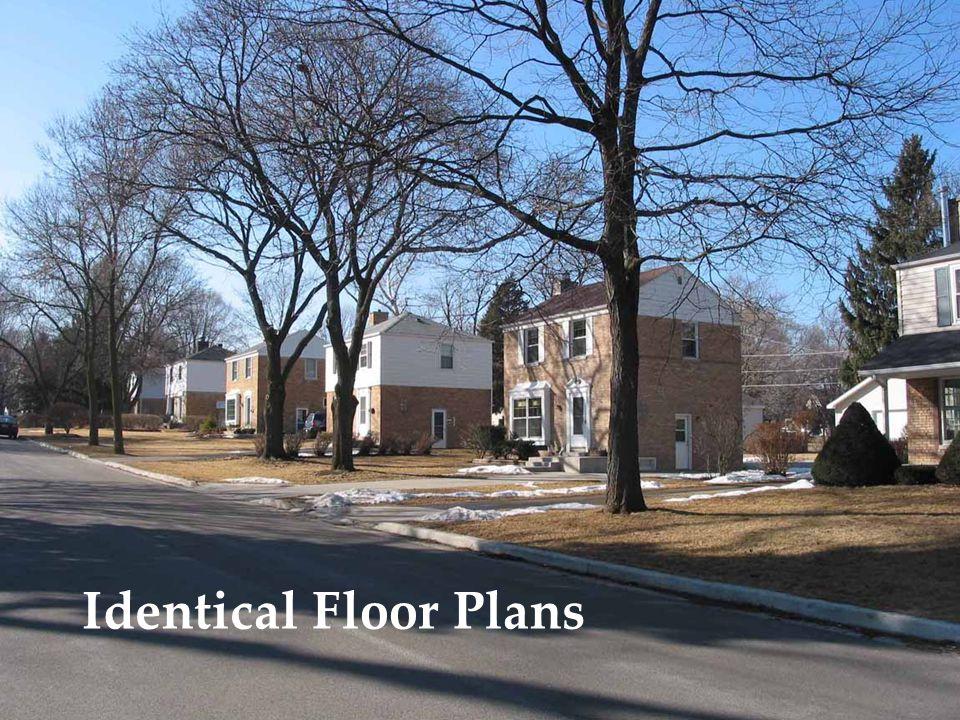 Identical Floor Plans