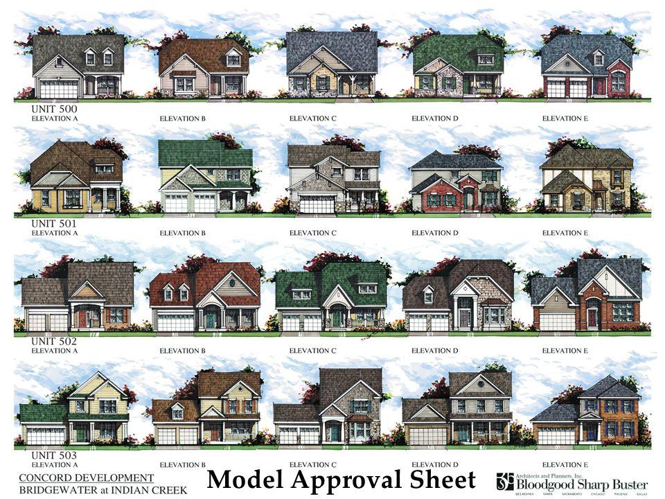 Model Approval Sheet
