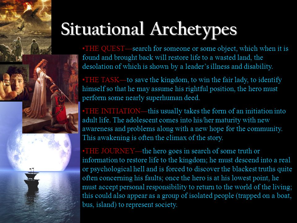 Examples of Archetypes