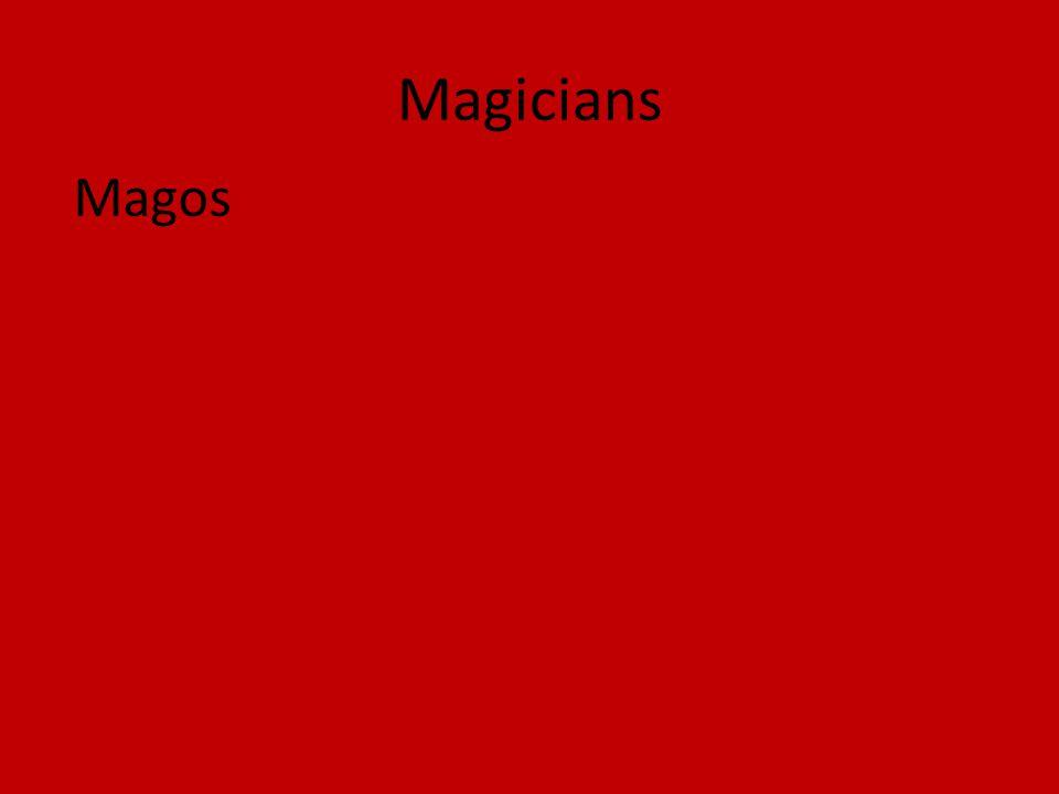 Magicians Magos