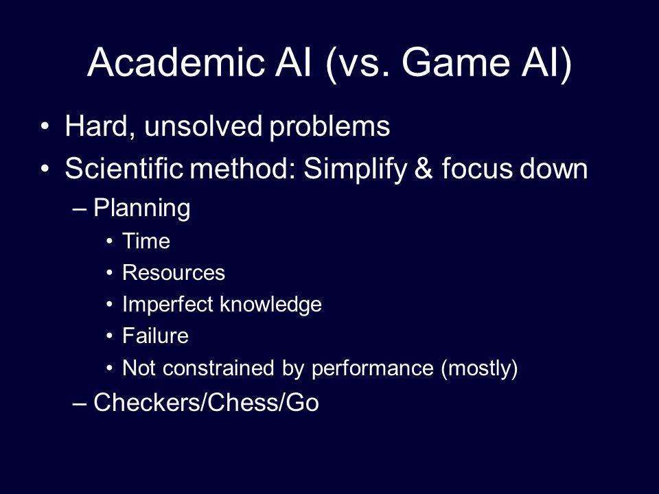 Academic AI (vs.