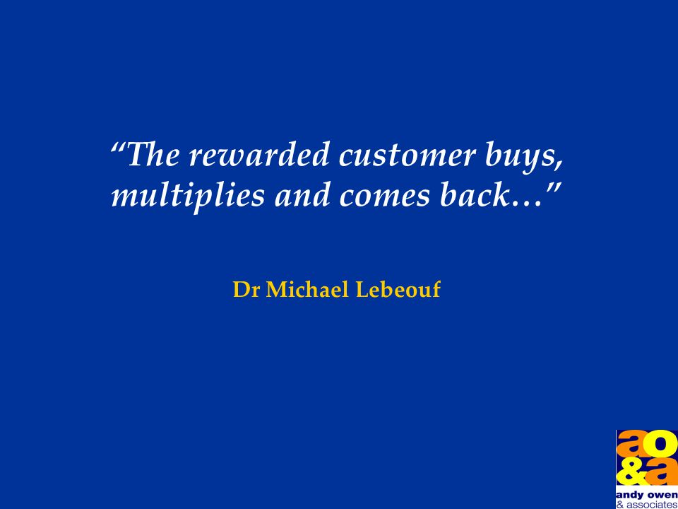 Customers are like hearts… …they go where they are appreciated…