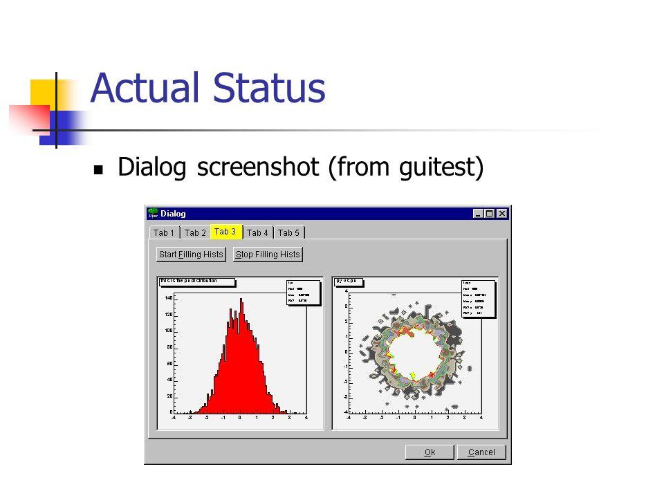 Actual Status Browser screenshot