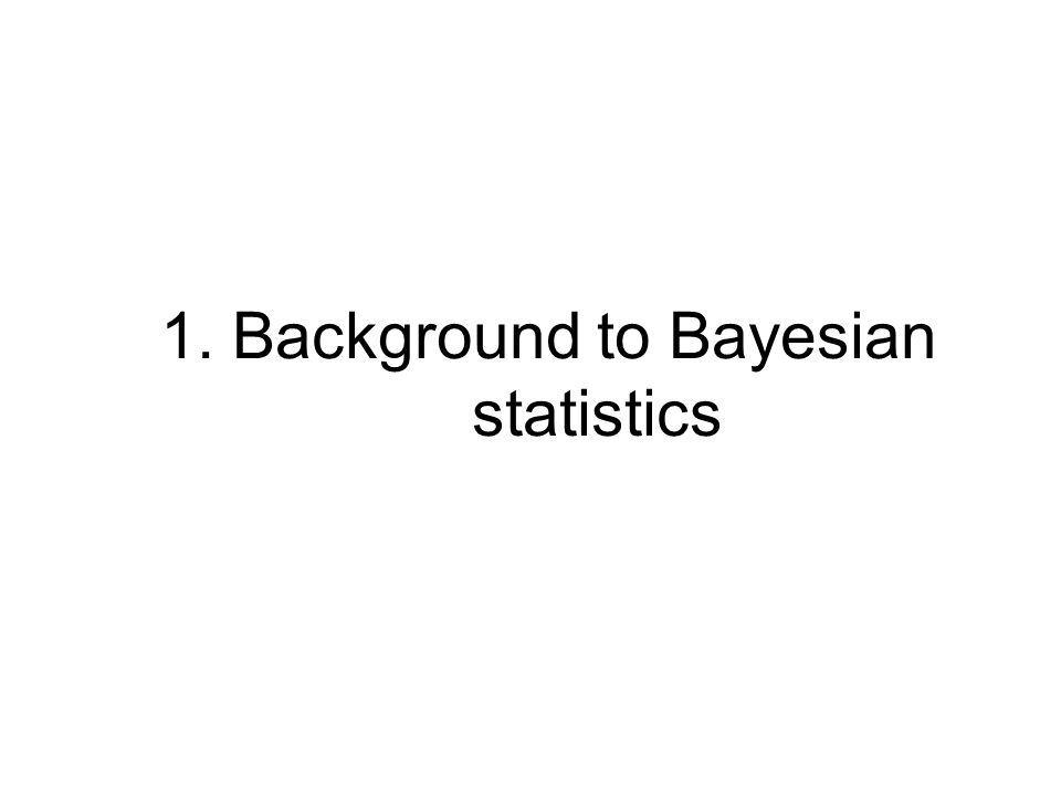 Bayesian analysis works OK –We saw the Bayesian analysis when t=1, (T*=2).