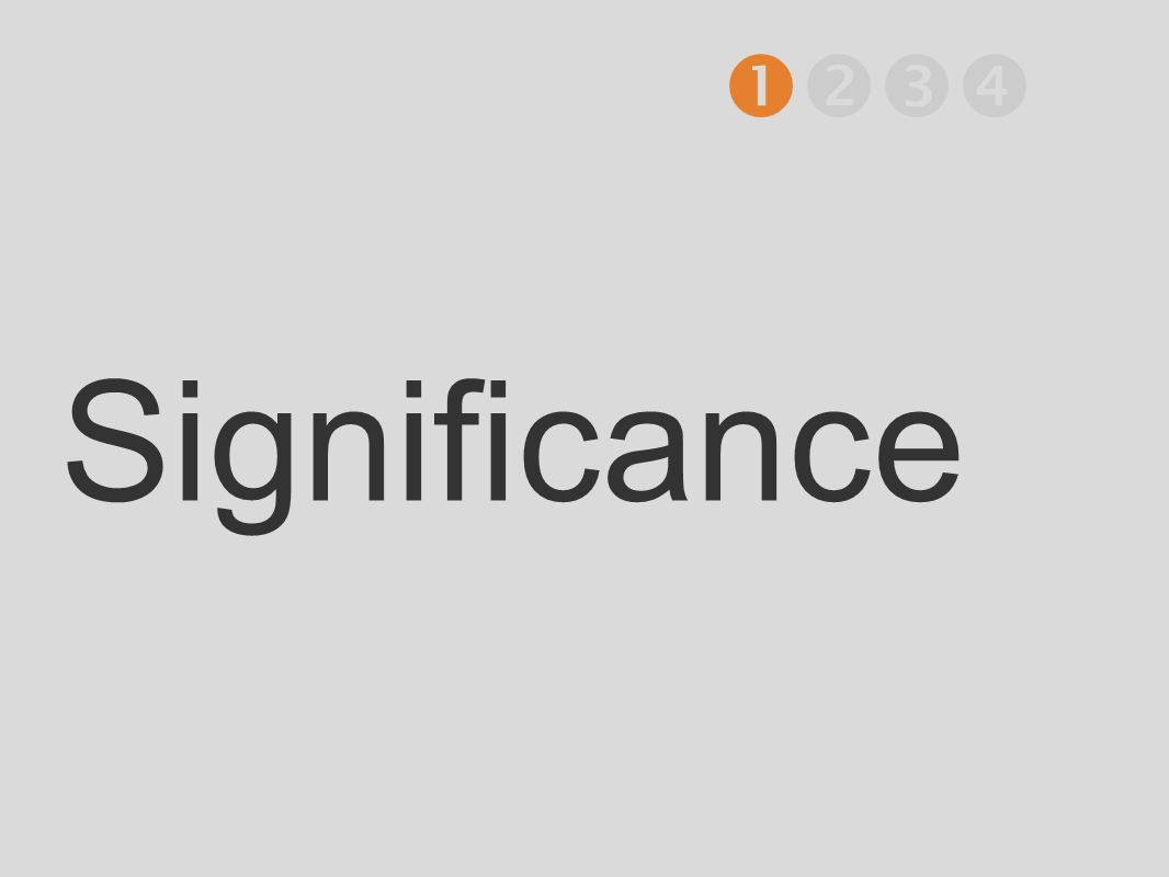 Significance 