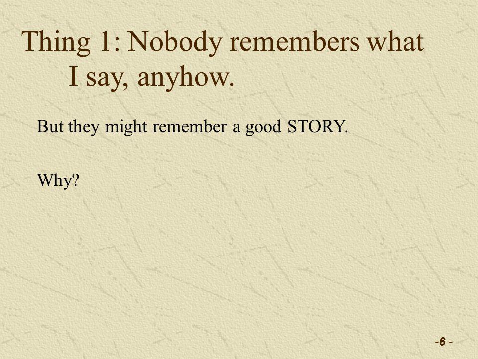 -17 - Naive Stupidity can kill you.