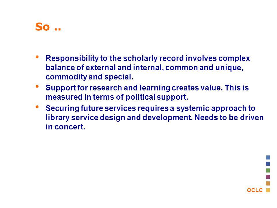 OCLC So..