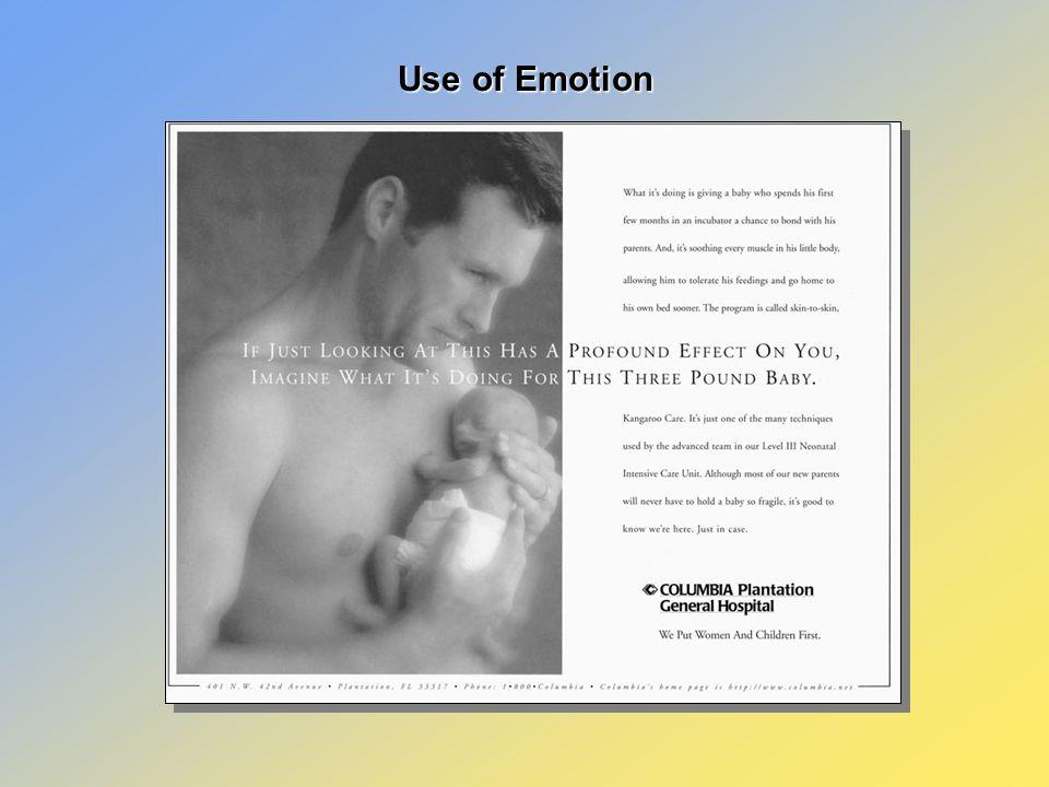 Use of Emotion