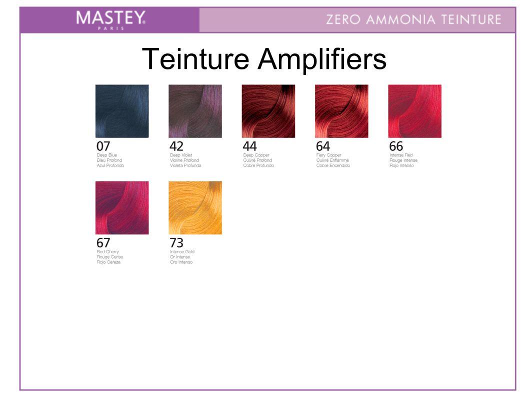 Teinture Amplifiers