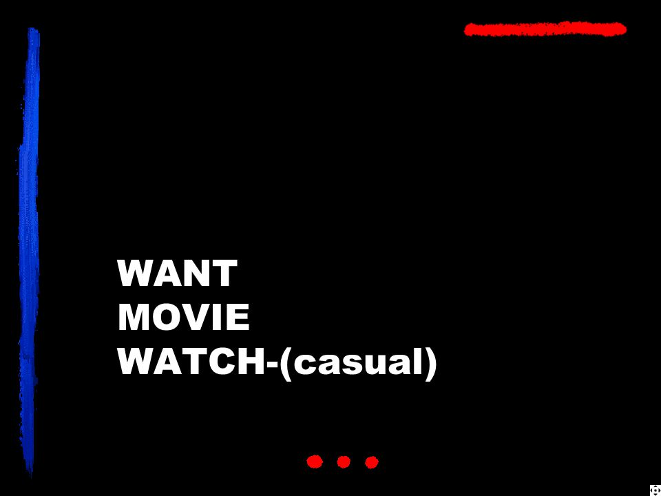 WANT MOVIE WATCH-(casual)