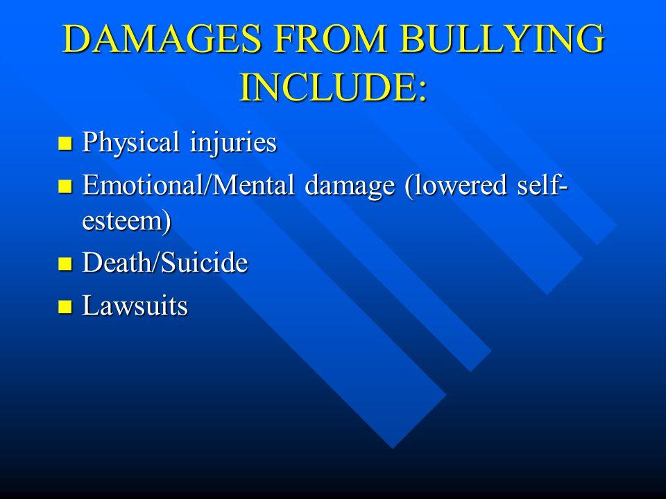 Bullies really have low self-esteem. Bullies really have low self-esteem.