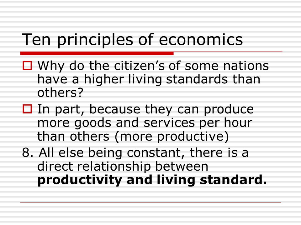 Ten principles of economics  Who should pay a price for this pollution.