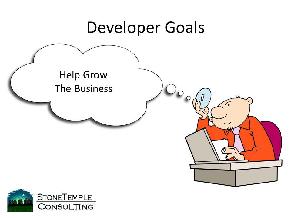 Developer Goals Help Grow The Business