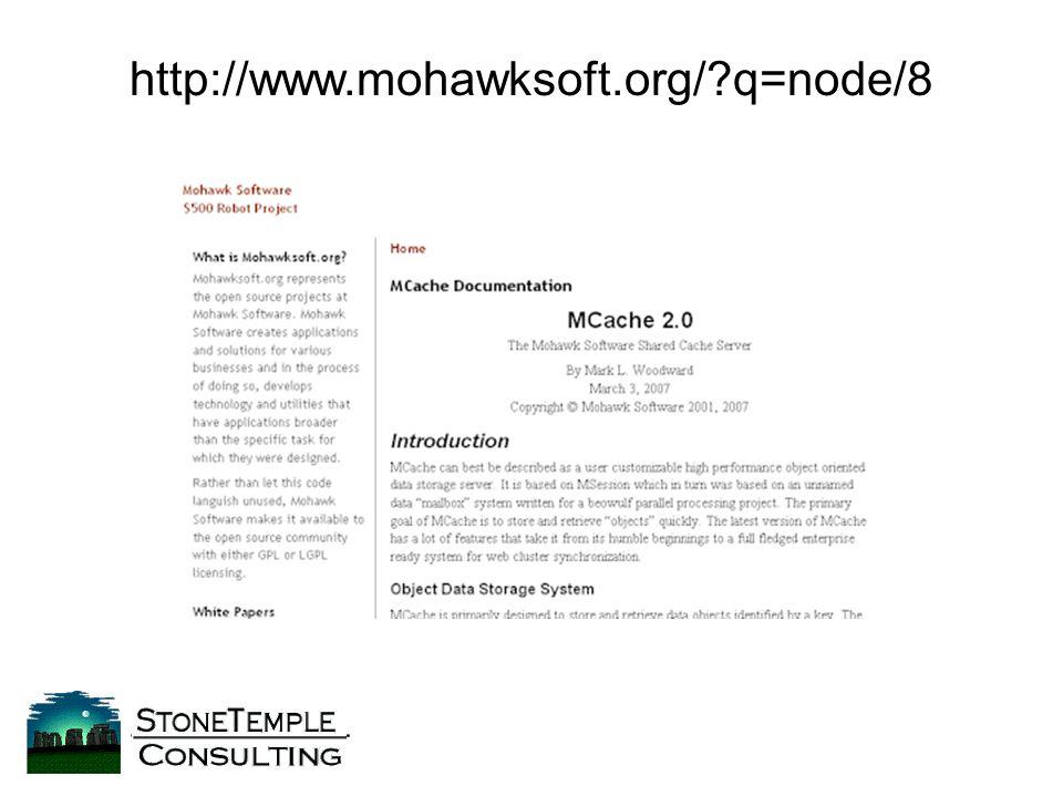 http://www.mohawksoft.org/ q=node/8