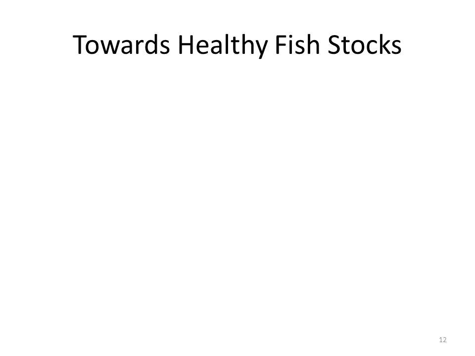 Towards Healthy Fish Stocks 12