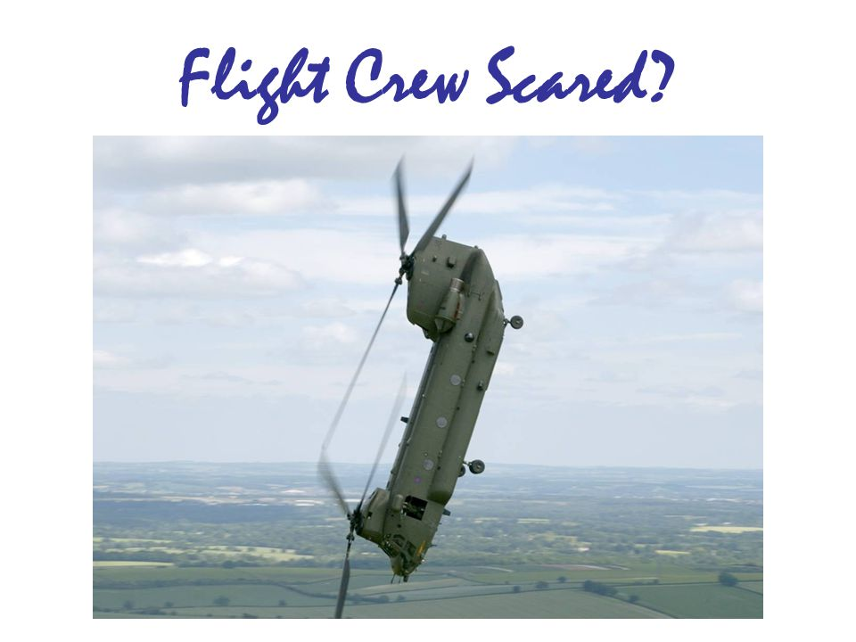 Flight Crew Scared