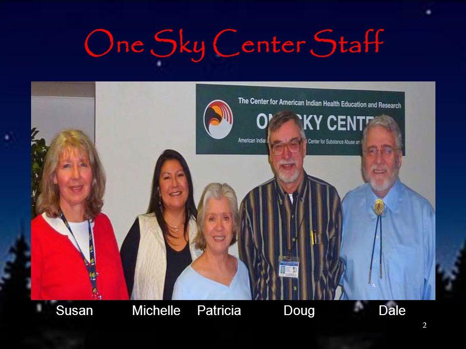 One Sky Center Staff 2 Susan Michelle Patricia Doug Dale