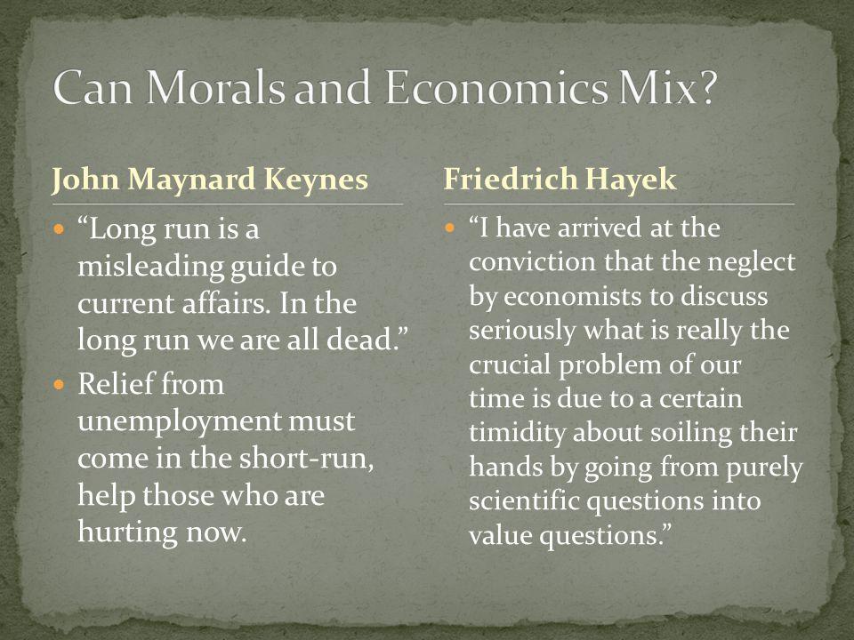 Common Keynesians:Common Classicalists: