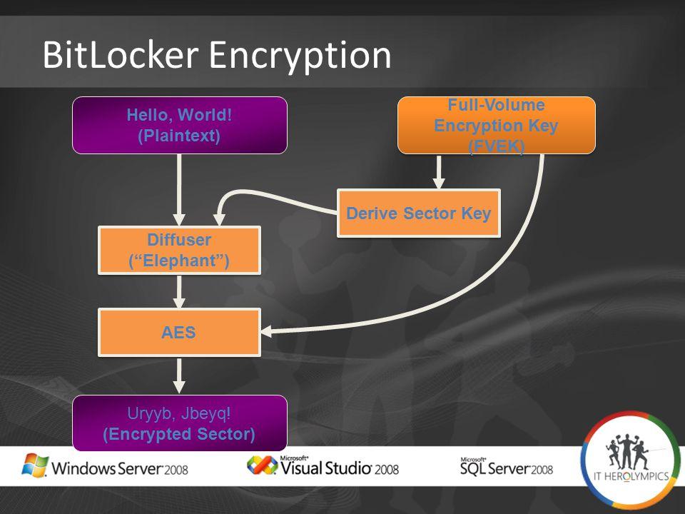 BitLocker Encryption Hello, World.