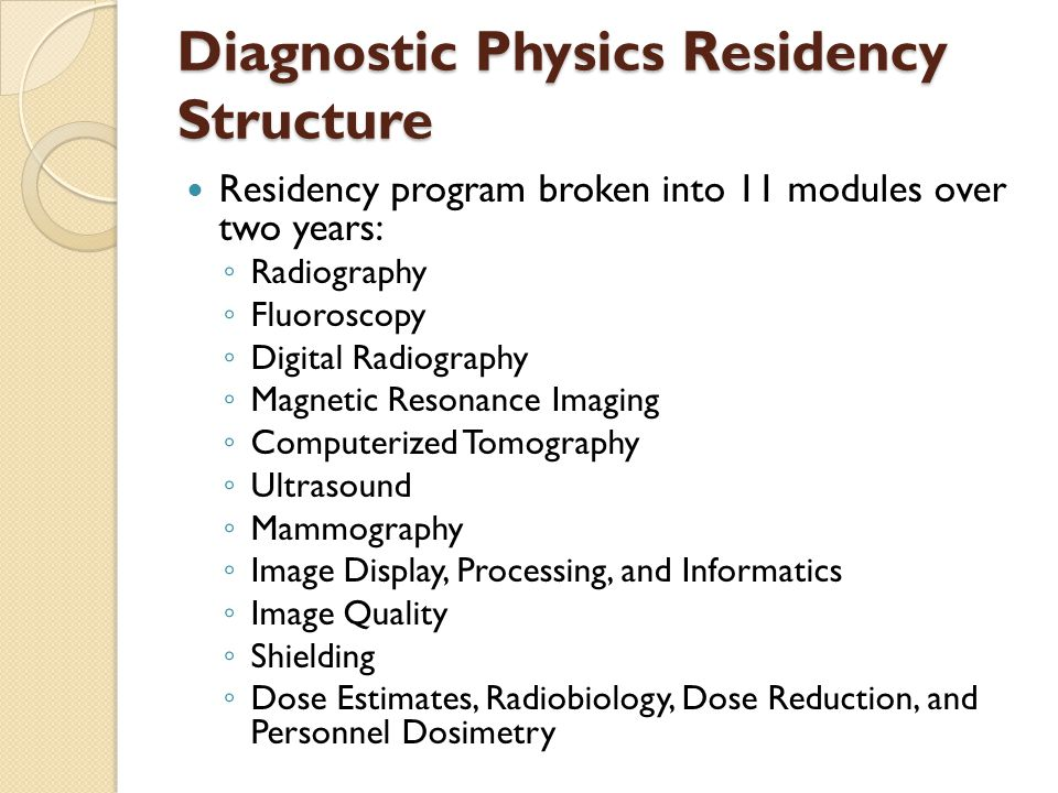 AAPM Reports #249: Essentials and Guidelines for Clinical Medical Physics Residency Training Programs #197: Academic Program Recommendations for Graduate Degrees in Medical Physics Additional Reports on www.aapm.orgwww.aapm.org