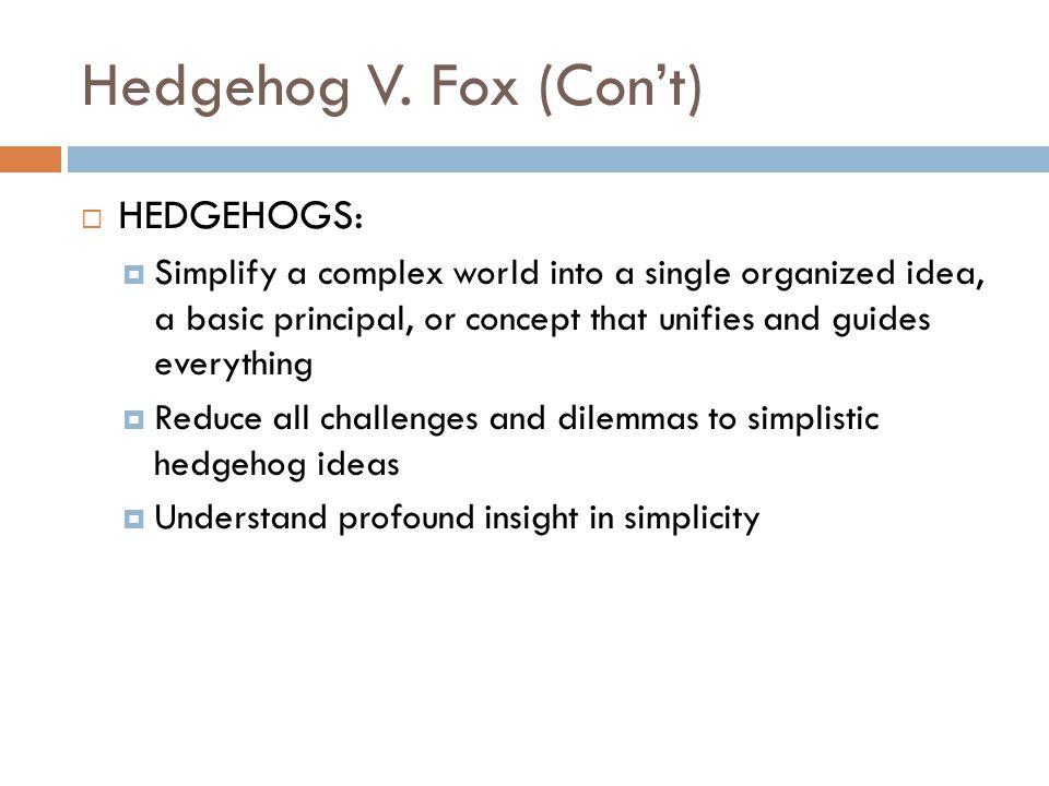 Hedgehog V.