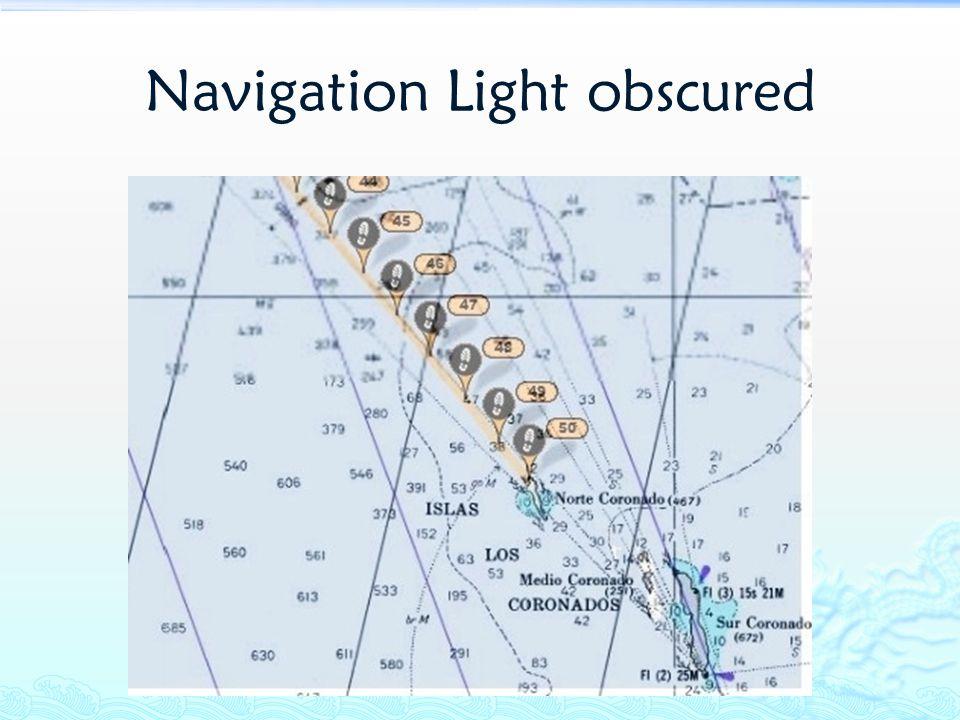 Navigation Light obscured