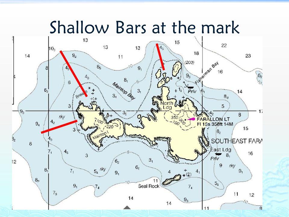 Shallow Bars at the mark