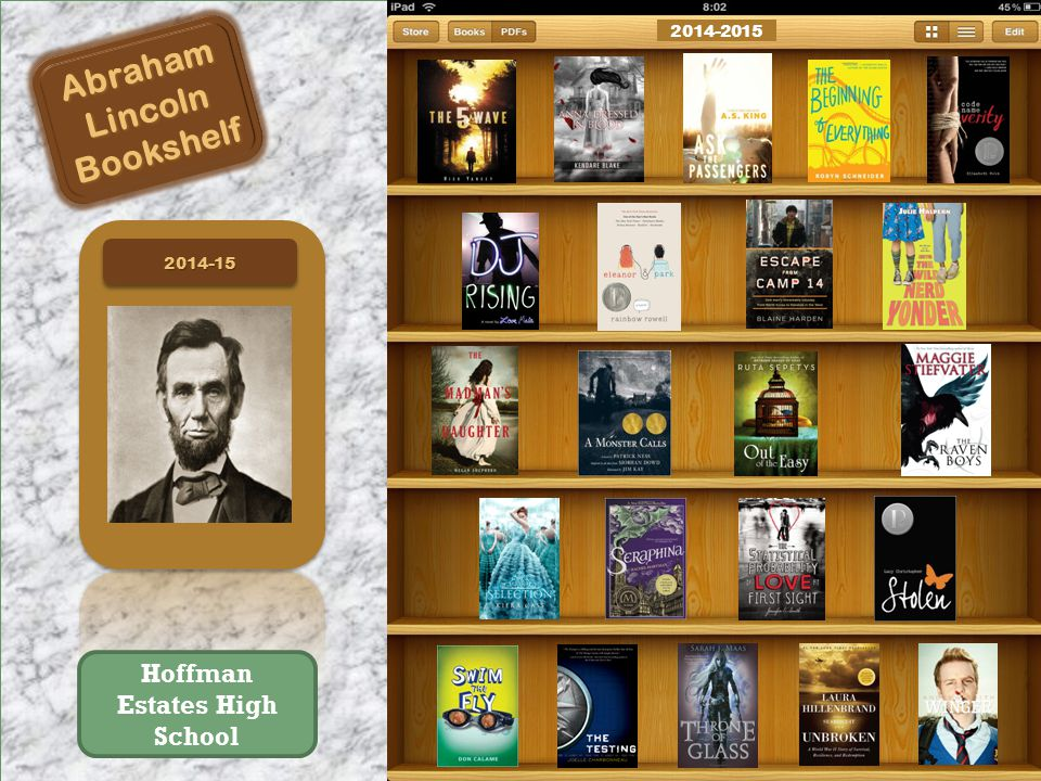 2014-152014-15 AbrahamLincolnBookshelf 2014-2015 Hoffman Estates High School