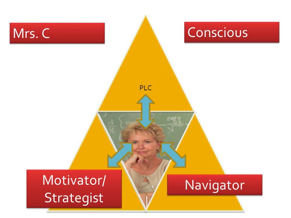 Mrs. C Conscious Navigator Motivator/ Strategist