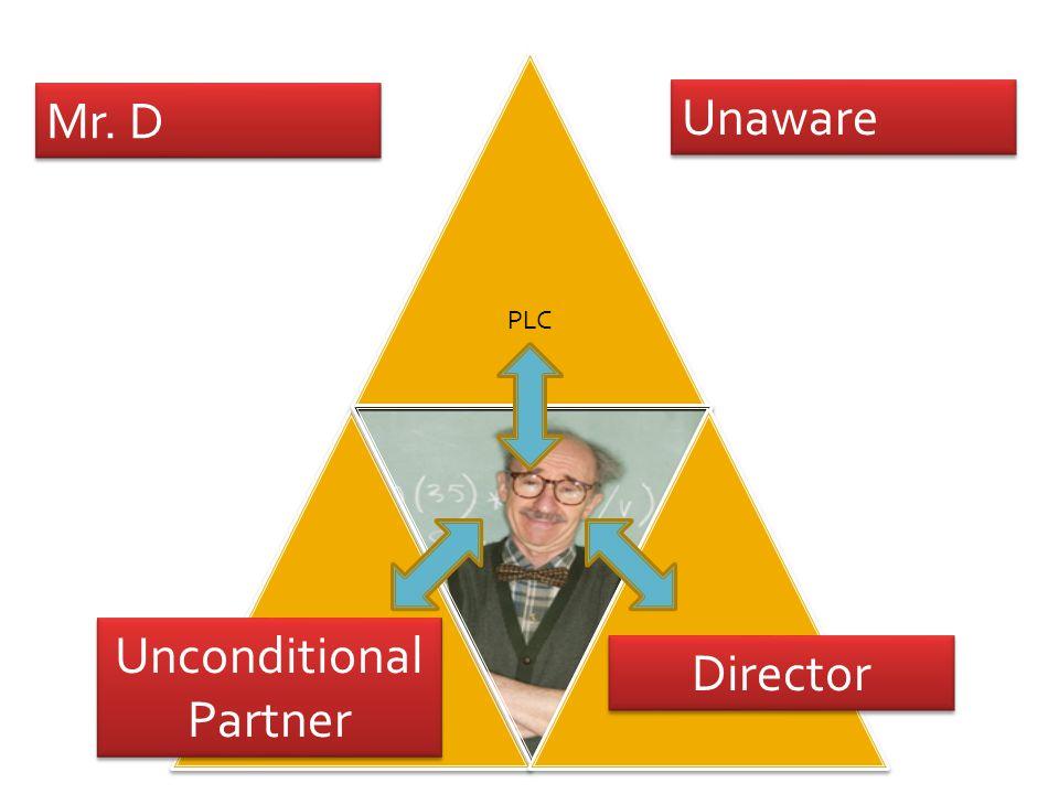 Mr. D Unaware Director Unconditional Partner