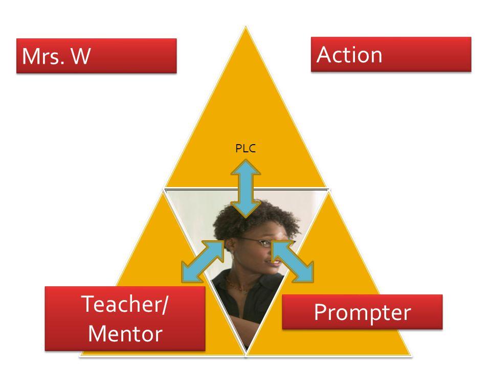 Mrs. W Action Prompter Teacher/ Mentor