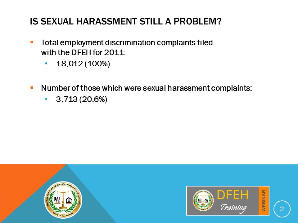 TYPES OF SEXUAL HARASSMENT  Hostile Work Environment.