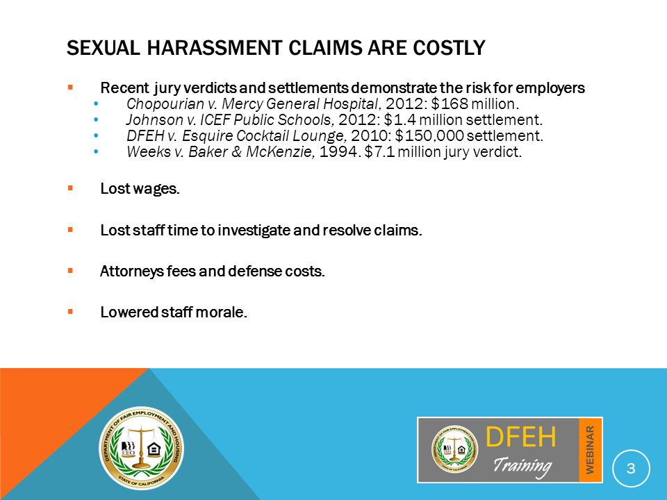 HOW TO DEAL WITH SEXUAL HARASSMENT.EMPLOYERS Implement an effective anti-harassment policy.
