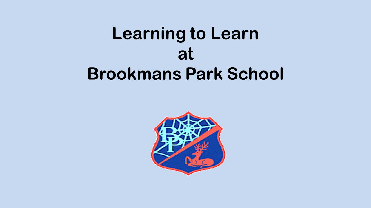Learning to Learn at Brookmans Park School