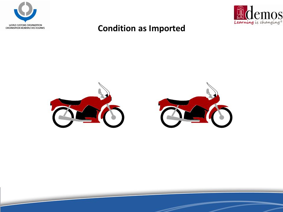 Condition as Imported