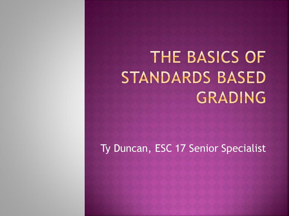 Ty Duncan, ESC 17 Senior Specialist