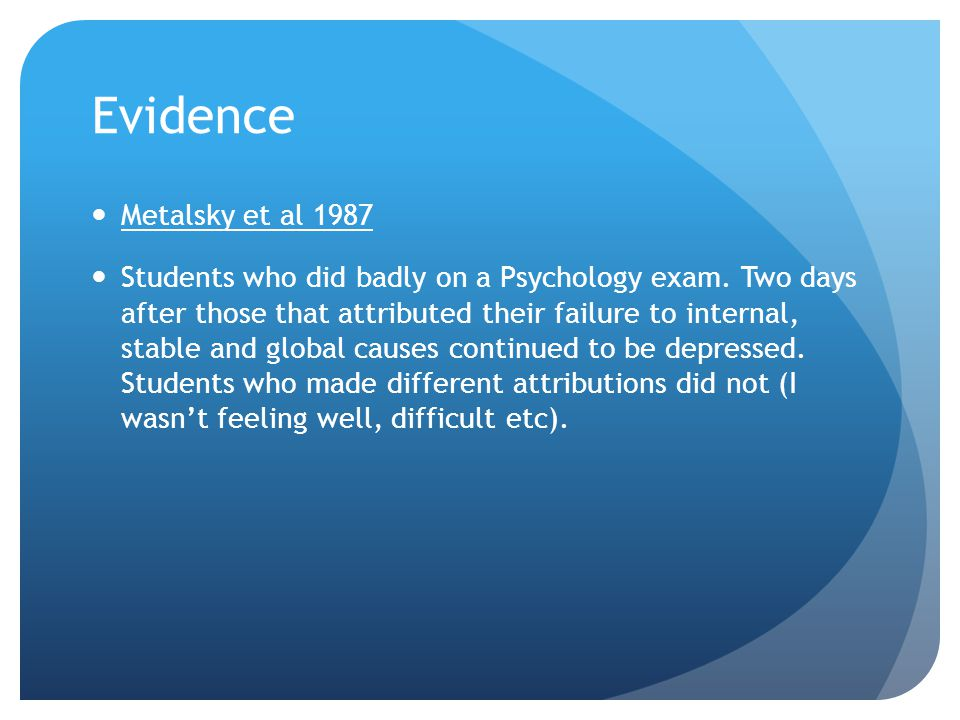 Evidence (+) Plausible and supported by a large body of evidence.